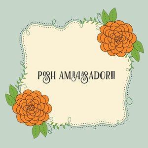 POSH AMBASSADOR! @careyeaz
